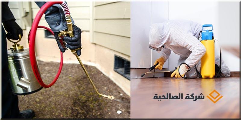 مكافحة حشرات وغسيل الخزانات