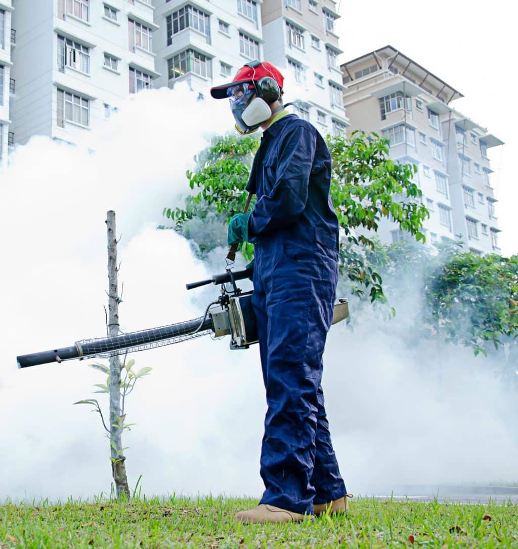 غسيل الخزانات ومكافحة الحشرات
